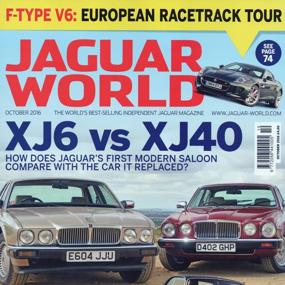 Jaguar World October Cover