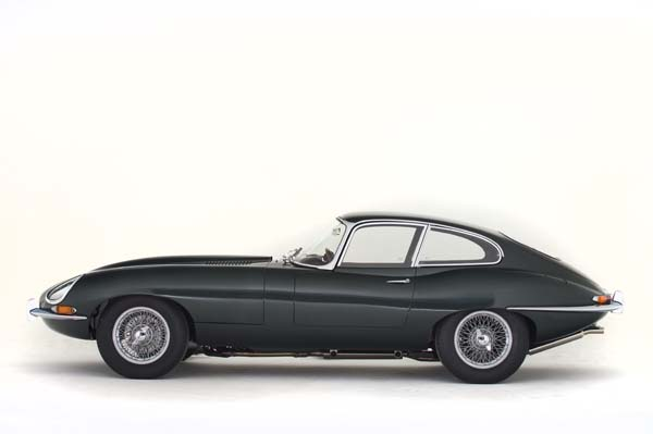 1962 Jaguar Series 1 E Type XKE 3.8 Litre Fixed Head Coupe in Opalescent Dark Green 0001