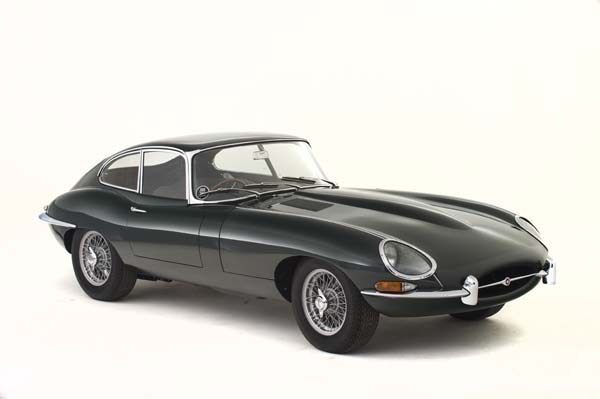 1962 Jaguar Series 1 E Type XKE 3.8 Litre Fixed Head Coupe in Opalescent Dark Green 0002