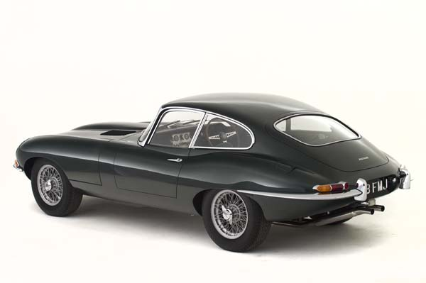 1962 Jaguar Series 1 E Type XKE 3.8 Litre Fixed Head Coupe in Opalescent Dark Green 0003