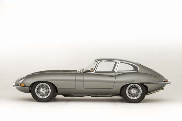 1962 Jaguar Series 1 E Type XKE 3.8 Litre Fixed Head Coupe in Opalescent Silver Grey 0001
