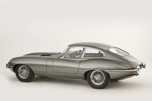 1962 Jaguar Series 1 E Type XKE 3.8 Litre Fixed Head Coupe in Opalescent Silver Grey 0003