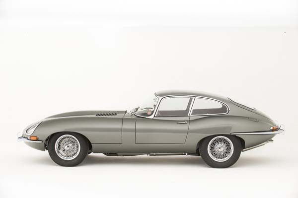 1962 Jaguar Series 1 E Type XKE 3.8 Litre Fixed Head Coupe in Opalescent Silver Grey 0013