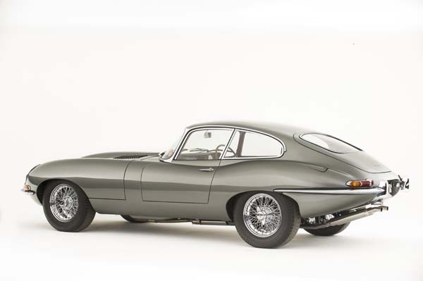 1962 Jaguar Series 1 E Type XKE 3.8 Litre Fixed Head Coupe in Opalescent Silver Grey 0015