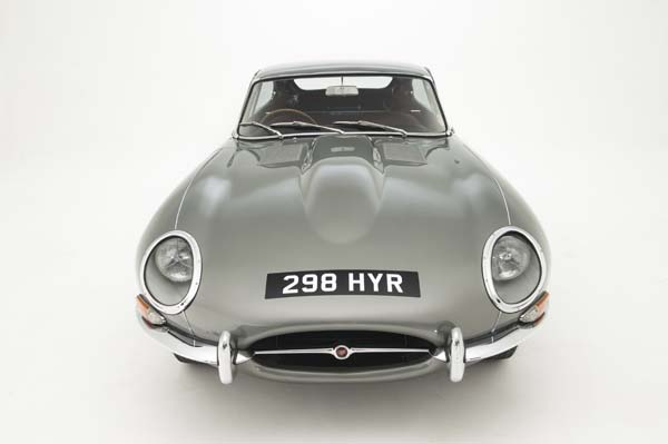 1962 Jaguar Series 1 E Type XKE 3.8 Litre Fixed Head Coupe in Opalescent Silver Grey 0016