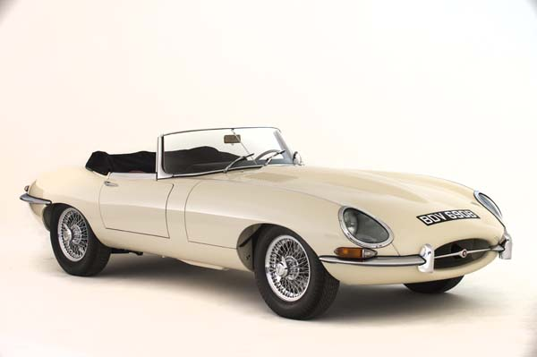 1964 Jaguar Series 1 E Type XKE 3.8 Litre Drop Head Coupe Roadster in Cream 0001