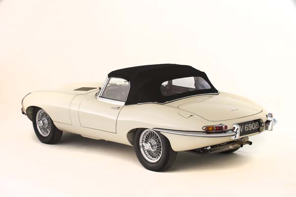 1964 Jaguar Series 1 E Type XKE 3.8 Litre Drop Head Coupe Roadster in Cream 0002