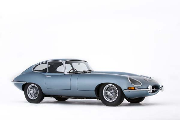 1967 Jaguar Series 1 E Type XKE 4.2 Litre Fixed Head Coupe in Opalescent Silver Blue 0002